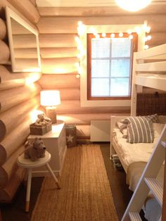 Galleria Cottage Bedrooms, Farm House, My Dream Home, Blinds, Cabin, Curtains, Ideas, Home Decor, Sunroom Blinds