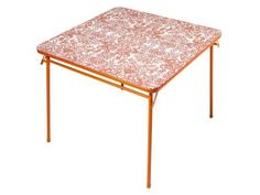 Top a Folding Table With a Fun Pattern