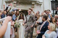 A Disco and London Town Inspired Wedding For A Fun-Loving Bride In Catherine Deane