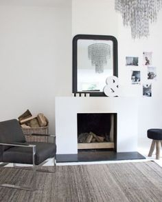 1000 images about open haard on pinterest met grey living rooms and modern country style - Deco moderne open haard ...