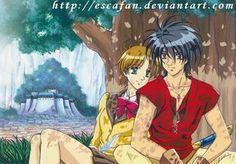 Van Hitomi in Fanelia PAINTING by escafan