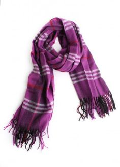 Checkmate Scarf  $18.00