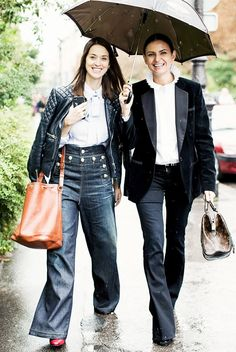 The Top-and-Denim Combo Fashion Girls Can't Stop Wearing | WhoWhatWear