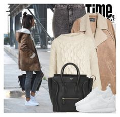 """2500. Street Style"" by chocolatepumma ❤ liked on Polyvore featuring Oris, Topshop, MANGO, Weekend Max Mara and NIKE"