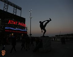 Juan Marichal statue at AT&T Park in San Francisco