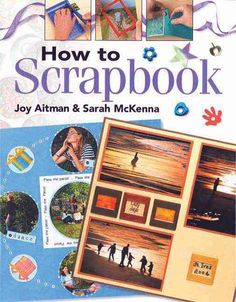 Joy Aitman explains all the basic techniques of scrapbooking and shows you how to create beautiful layouts using holiday photographs, a school photograph and a wedding picture. Cropping is one of the