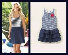 Like Mother, Like Daughter - Striped Dress for Mommy and baby too!