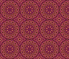 Southern Circles fabric by robyriker on Spoonflower - custom fabric