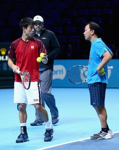 Kei Nishikori Photos - Barclays ATP World Tour Finals - Day One - Zimbio