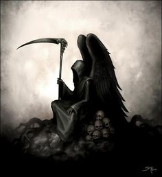 Death Angel. Grim Reaper. Love this!!