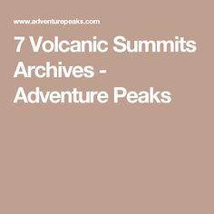 7 Volcanic Summits Archives - Adventure Peaks
