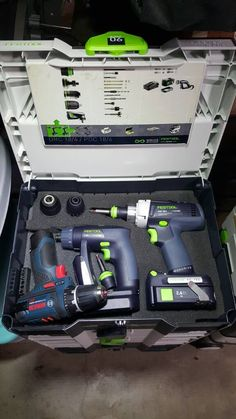 Ideas for Combining tools in single systainers