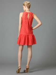 COTTON LACE DRESS by Milly at Gilt