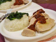 Reţeta orezului cu spanac şi pui cu sos de roşii este una din multele reţetele simple pe care le-am încercat. A ieşit minunat. Nici... Grains, Rice, Food, Essen, Meals, Seeds, Yemek, Laughter, Jim Rice