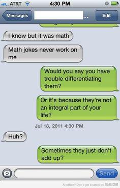 Hehe...math jokes!