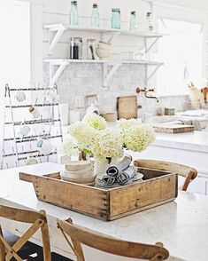 We listed a few more French Farmhouse finds today. The link is in our profile. French Farmhouse, Farmhouse Style, Farmhouse Decor, Kitchen Ideas, Kitchen Design, Cozy Cottage, Kitchen Remodel, Shabby Chic, Decorating Ideas