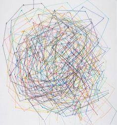 untitled, 2010, colored pencil on transparent paper, Susanne Ackermann