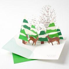 MoMA Sabuda Forest Scene Pop-Up Cards