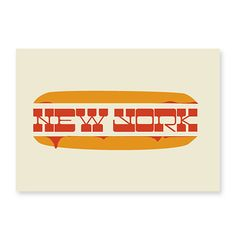 New york food type on the Behance Network