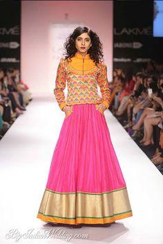 Shruti Sancheti at Lakme Fashion Week Winter/Festive 2014