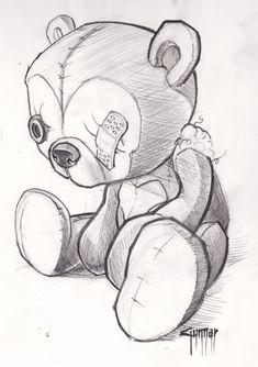 teddy bear tattoos images lSmrvlyi