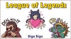 League of Legends: Emoticons Facebook O jogo online League of Legends possui um pacote de stickers ou emoticons para comentários no Facebook ou no Messenger - aplicativo de bate-papo. http://sigasigo.blogspot.com.br/2015/09/league-of-legends-emoticons-facebook.html #LeagueofLegends #Games #Emoticons #Facebook