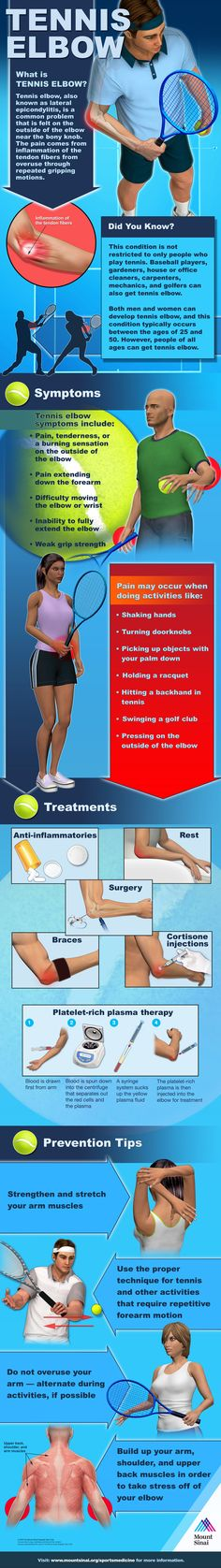 What is Tennis Elbow   #infographic #Health #TennisElbow