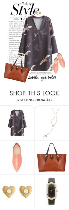 """""""Bold Prints"""" by dawn-scott ❤ liked on Polyvore featuring WithChic, Lana, Acne Studios, Somerset by Alice Temperley and Marc Jacobs"""