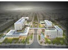 청사 현상에 대한 이미지 검색결과 Architecture Office, 3d Rendering, Building Design, Exterior, Architectural Models, Image, Buildings, Korea, Medical