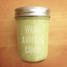Vegan Avocado Ranch