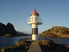 Lofoten Lighthouse by little_frank, via Flickr