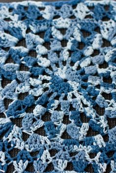Kata   File has been modified - version 5 here.     This pattern is a flower – created by crocheting clusters.  Although the instructi...