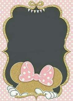 New birthday party themes disney minnie mouse ideas Minnie Birthday, Birthday Party Themes, Girl Birthday, Mickey Minnie Mouse, Diy Invitations, Baby Shower Invitations, Mouse Parties, Diy For Girls, Creations