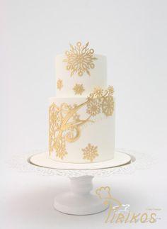 Our Christmas cake to You! - Cake by Pirikos, Cake Design