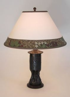 trench art shell casing lamp