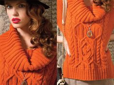 Vogue Knitting Fall 2012 Fashion Preview - more brights!