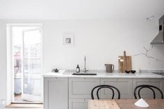Serene and Simple 40-Square-Meter Apartment - NordicDesign