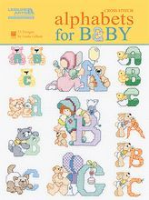 Cross Stitch Alphabets for Baby