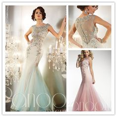 Beautiful Style Light Green Applique Modest Prom Dresses With Sleeves Long Tulle Corset  Mermaid Prom Dress Vestidos De Fiesta $186.99