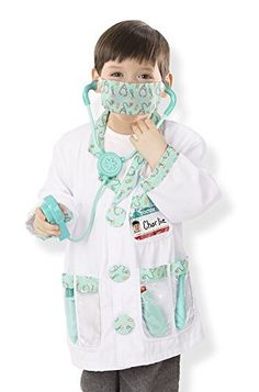 Melissa & Doug Children's Doctor Role Play Costume Set Costumes //Price: $19.73 & FREE Shipping //     #hashtag3