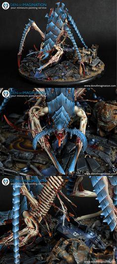 Tyranid Hierophant Bio-Titan - denofimagination