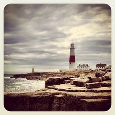 #Portland Bill in #Dorset with its famous lighthouse