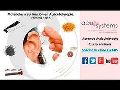 Materiales para Auriculoterapia parte 1 - YouTube