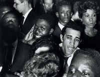 Crowd, Palladium Ballroom, New York, 1956 by William Klein