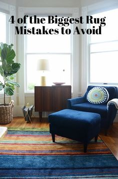 Flooring Fix: 4 of the Biggest Rug Mistakes to Avoid | Apartment Therapy