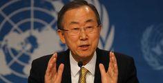 """El secretario general de las Naciones Unidas (ONU), Ban Ki mooon, afirmó que la situación que atraviesa Venezuela es una crisis humanitaria en la que """"las"""
