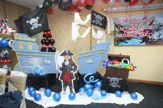 "Photo 5 of 12: Pirate Birthday Boy / Birthday ""Captain Qimie 2yr Old"" | Catch My Party"