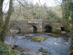 CLAPPER BRIDGE   River Lynher, Cornwall     ✫ღ⊰n