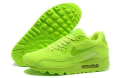 0bad0db8f84d Nike Air Max 90 Prm Em Unisex All Green Sports Shoes Norway Zapatillas Nike  Air
