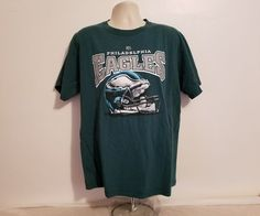 75d5b72ea NFL Philadelphia Eagles Adult Large Green Football T-Shirt  NFL   PhiladelphiaEagles Football Clothing